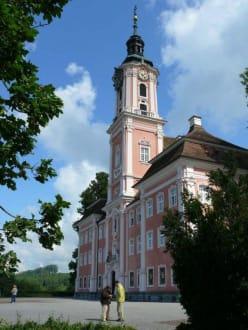 Außenansicht der Kirche - Wallfahrtskirche Birnau Uhldingen