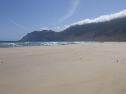 Strandeinsamkeit - Strand Famara