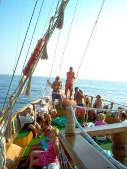 Schiff Berkay - Delfin Tour Incekum