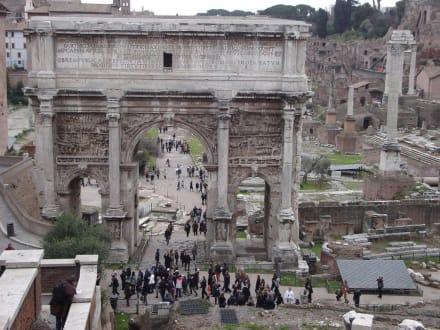 Triumphbogen - Forum Romanum