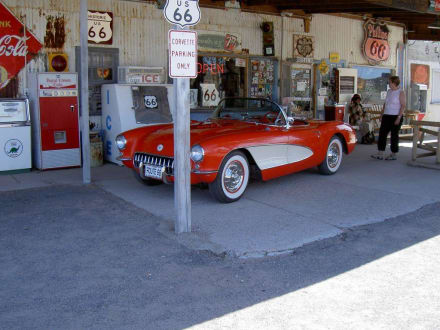 Store in Hackberry an der Route 66 - Hackberry