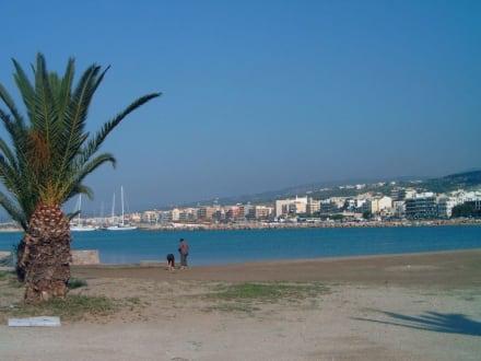 Der strand am Hafen - Altstadt Rethymno