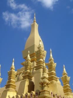 Der Pha That Luang. - Stupa - Pha That Luang
