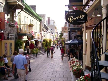 Rue de Petit Champlain, Quebec - Rue du Petit Champlain