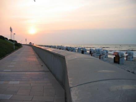 Sonnenuntergang - Strandpromenade Kühlungsborn