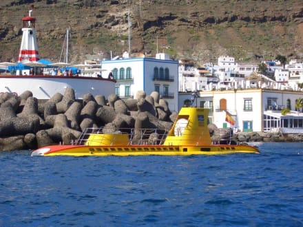 U-Boot - U-Boot Tour Yellow Submarine Puerto de Mogán