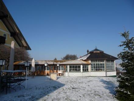 Glaspavillon / Restaurant - Hotel Reiteralm