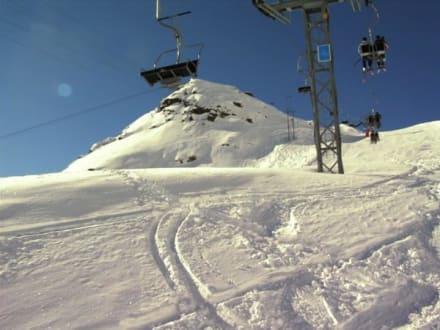 Berge von Saas Fee - Skigebiet Saas Fee