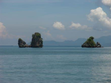 Felsformation - Tanjung Rhu Strand