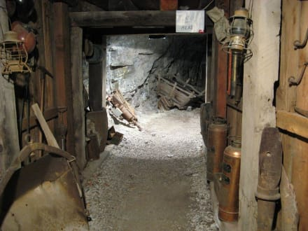 Museum in der Ghost Town Mogollon - Ghost Town Mogollon