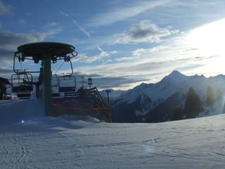 Bergstation 6 SB Penken-Express - Skigebiet Zillertal 3000