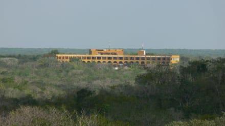 Uxmal-Hotel - Ausgrabung Uxmal