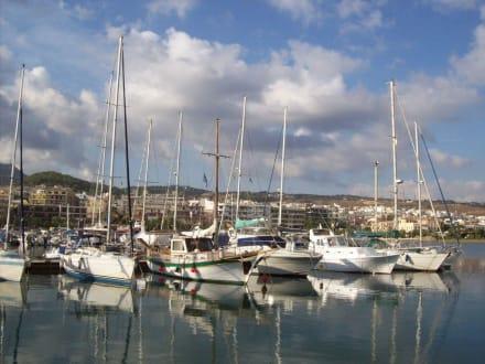 Yachthafen - Hafen Rethymno