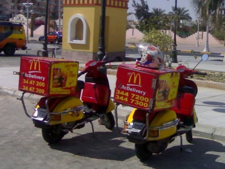 Mc Donalds on Tour - Basar