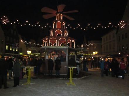 Schongau Weihnachtsmarkt.Weihnachtsmarkt Marienplatz Bild Weihnachtsmarkt Schongau In Schongau