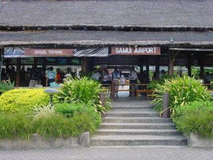 Ankunft auf Koh Samui - Flughafen Koh Samui (USM)
