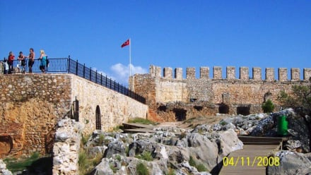 In der Burg - Burg von Alanya  (Ic Kale)