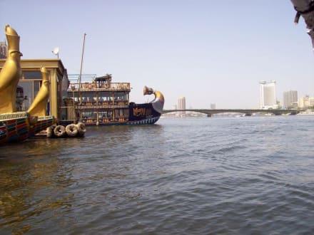 Da legen sie los - Bootstour auf dem Nil