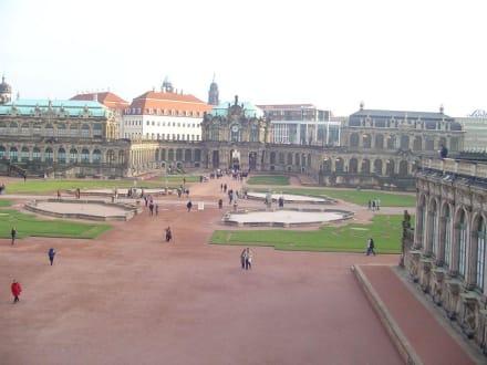 Der Zwinger in Dresden - Zwinger