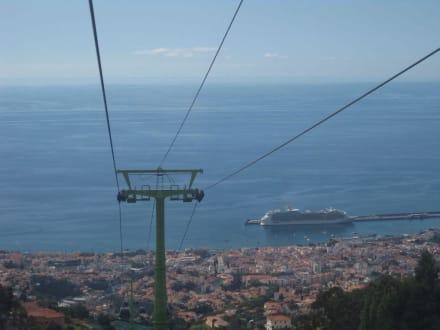 Talfahrt vom Monte - Seilbahn Funchal