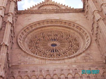 Detail der Kirche - Kathedrale La Seu