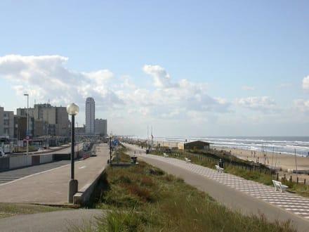 Zandvoort,  Promenade - Strand Zandvoort
