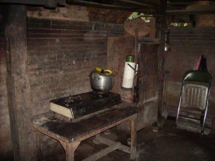 Küche - Balinesische Hofanlage