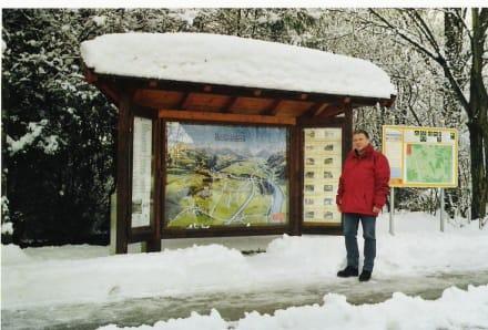 Zufahrtsstrasse zum Kurhaus - Kurort Bad Vigaun