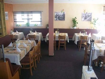 Gastraum rechts - Restaurant Fischer