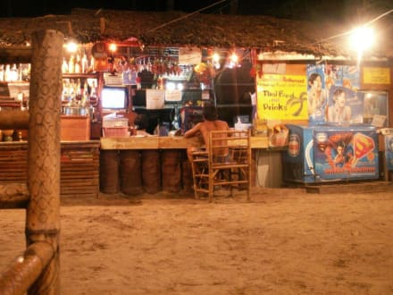 """Palm Beach Restaurant"" bei Nacht - Palm Beach Restaurant"