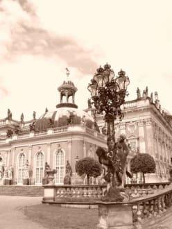 Potsdam Eine Reise in einer andere Zeit. - Schlosspark Sanssouci