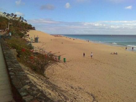 Blick auf den wundervollen Strand von Jandia - Strand Jandia