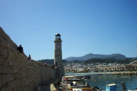 Leuchtturm Rethymnon - Hafen Rethymno