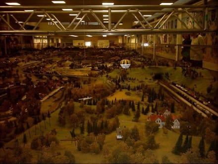 Übersicht der Hauptanlage - Modellbahn Wiehe