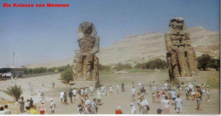 Die Kolosse von Memnon - Kolosse von Memnon