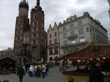 Tempel/Kirche/Grabmal - Hauptmarkt Krakau