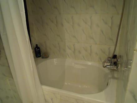 kleine badewanne zum duschen bild hotel menaville safaga in safaga hurghada safaga gypten. Black Bedroom Furniture Sets. Home Design Ideas