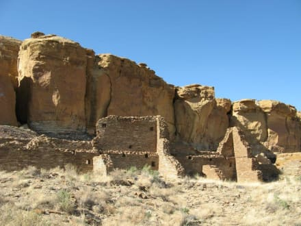 Hungo Pavi-Ruinen im Chaco Canyon - Chaco Culture National Historical Park