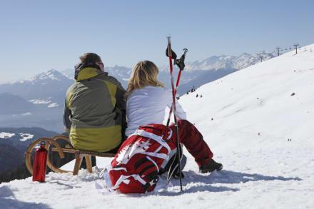 Winter - Skigebiet Meran 2000