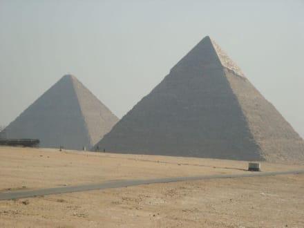 Chephren und Cheops - Pyramiden von Gizeh