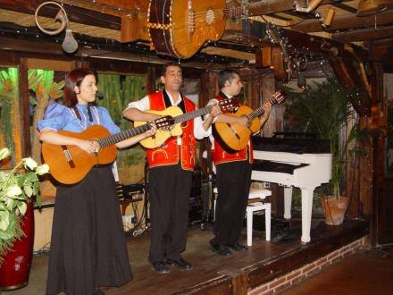 Live-Band im Restaurant Molino Blanco - El Molino Blanco