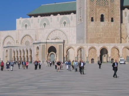 Casablanca - Moschee Hassan der zweite - Hassan-II.-Moschee