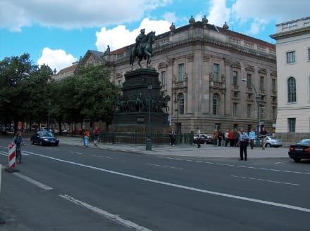 Der alte Fritz - Unter den Linden