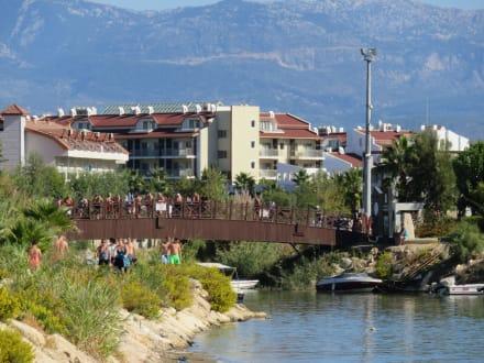 Brücke am Hafen - Hafen Evrenseki