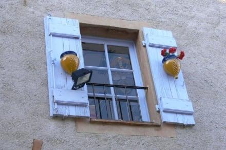 Fenster der Burg - Burg Gourdon