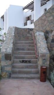 Treppe zum OG - Hotel Gorgonia Beach