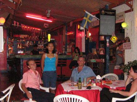 Restaurant Schlusslicht Karon Beach. Phuket - Schlusslicht