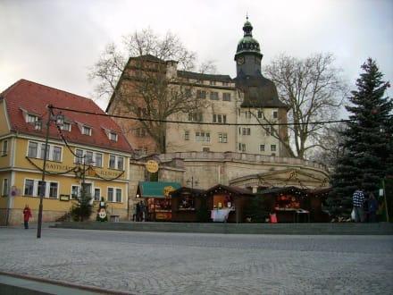 Blick zum Schloss Sondershausen - Schloss Sondershausen