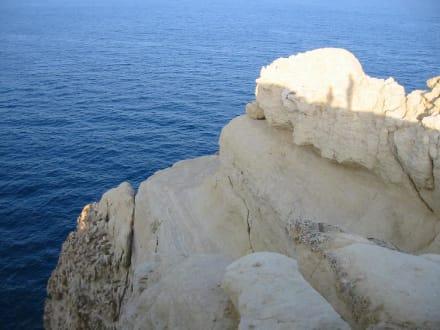Felsen bei Matala - Strand Matala