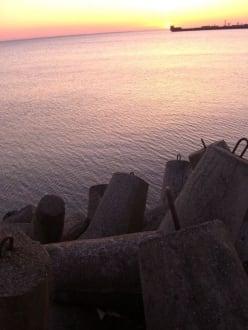 Sonnenuntergang - Strand Hel
